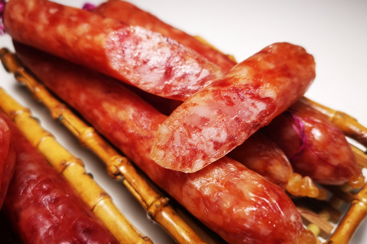 Chinese Sausage with Rice Wine